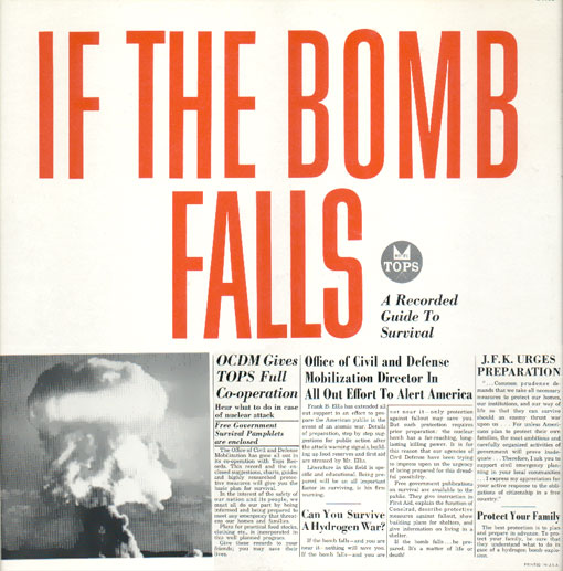 If The Bomb Falls: A Recorded Guide to Survival - 1961